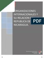 Organismos Internacionales en Nicaragua