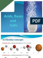 Acids, Bases
