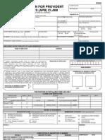 Pag IBIG Form
