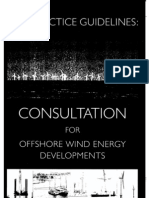 Best Practice Guidelines - Offshore Wind Energy Development - BWEA - 2002