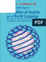 Politics of English, Post Colonial