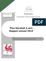 Rapport Annuel Plan Marshall Vert 2010