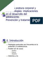 t.51La postura corporal y sus patologías