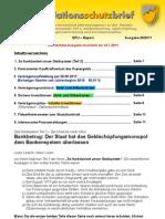 INFLATIONSSCHUTZBRIEF Nr. 20/2011 (Boersenbrief Boersenmagazin ueber Bankbetrug, Geldsystem, Inflation und Inflationsschutz 2011)