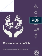 Disasters and Conflicts