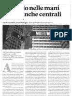 Il mondo nelle mani delle banche centrali