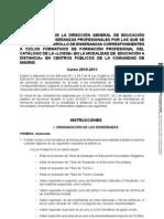 FP Distancia LOGSE 2010-11 Instrucciones