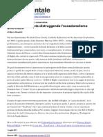 Marco Respinti, «Come la sinistra sta distruggendo l'eccezionalismo americano», in «l'Occidentale. Orientamento quotidiano», Roma 01-07-2011