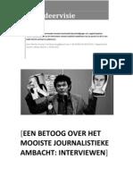 Afstudeervisie School Voor Journalistiek - Merlijn Ensing
