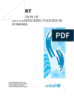 UNICEF Evaluation of Anti Trafficking Policies in Romania Qualitative Study!!!!