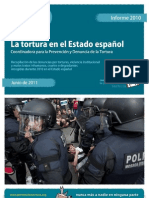 Tortura en el estado español INFORME-2010
