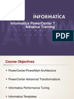 Informatica Advanced Training