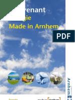 Convenant Energie Made in Arnhem Incl. Bijlagen