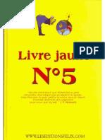 Livre jaune N°5 complet