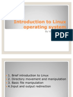 Introduction To Linux Operating System | Operating System