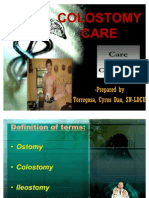 Ward Class- Colostomy Care