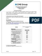 CME InternationalIncentiveProgramQA