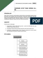 Topik 6 Penyusunan Ayat Dan Surah Al-Quran