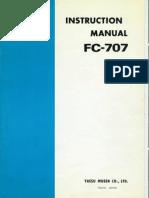FC-707 Antenna Coupler Manual