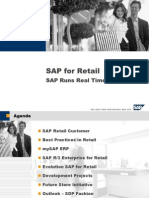 1 SAP for Retail Overview