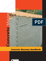 Concrete Masonry Handbook, Walling