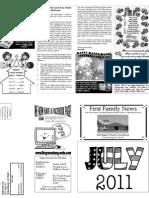 FBC Newsletter July 2011