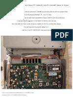 FT-1000 Sub Rx Filtering Hans Remeeus
