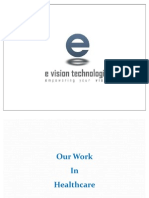 Best Healthcare and Hospital Website Project Work Done by E Vision Technologies - India
