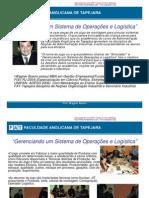 ADMINISTRAÇÃO INDUSTRIAL - PRODUÇÃO - LOGÍSTICA