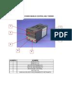 Instrucciones Manejo Control Max Thermo Modelo 5438 Rampas