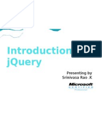 IntroductionTojQueryPart-I