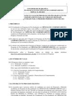 Mestrado UNB 2011