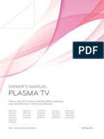 Lg Plasma Tv Manual