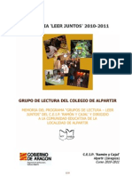 Leer Juntos 2010-2011