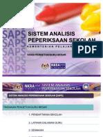 Manual Pgb- SAPS SISTEM ANALISA PEPERIKSAAN SEKOLAH