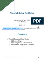 Ansoft Motor Manual