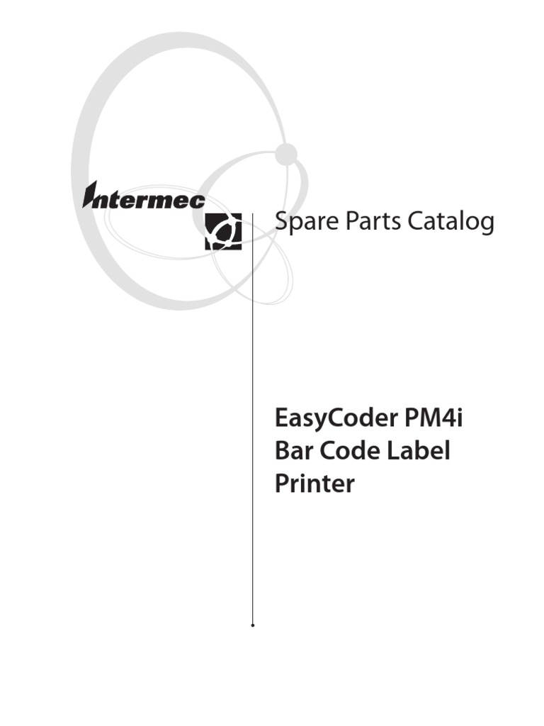 INTERMEC PM4i 1-206383-90 Media supply roll post w// large edge guide 1-206384-05
