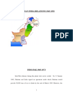 Pak India Relations