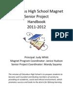 Senior Project Handbook 11-12