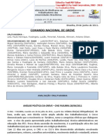 Informe 9 do Comando Nacional de Greve (29.jun.2011)