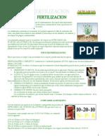 Fertilizacion Pasto