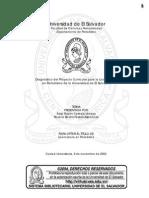 Diagnóstico del Proyecto Curricular para la Licenciatura en Periodismo de la Universidad de El Salvador
