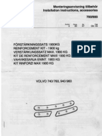 AHK-Verstärkungssatz Volvo 740-9