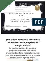 Una central nuclear en el Perú