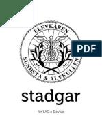 SÄG:s Elevkårs Stadgar