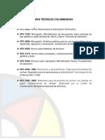 Normas Tecnicas Colombianas V2