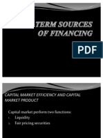 Lon Term Sources of Finance