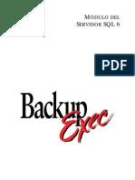Backup Exec-respaldo de La Bd SQL