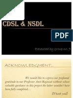 CDSL & NSDL