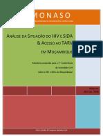 Estudo Da MONASO Sobre Situacao Do HIV e SIDA Em Mocambique